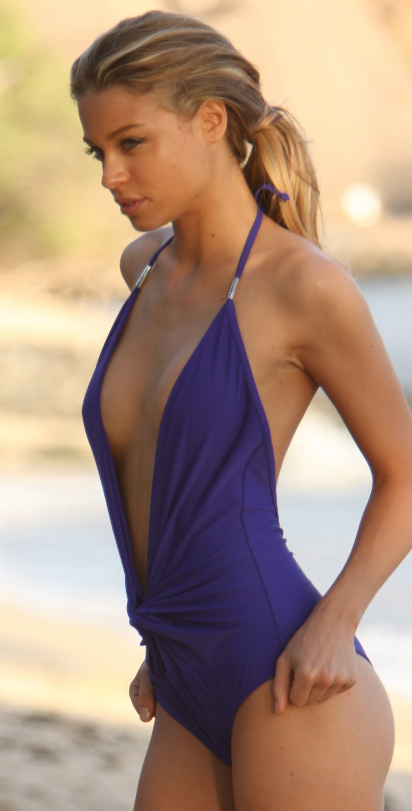 Sexy one piece swim suit strip picture 74