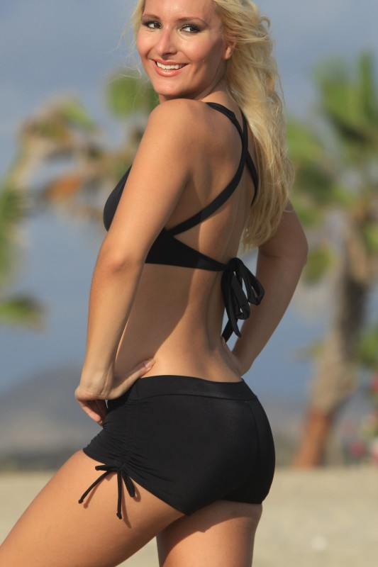womens-black-swim-shorts