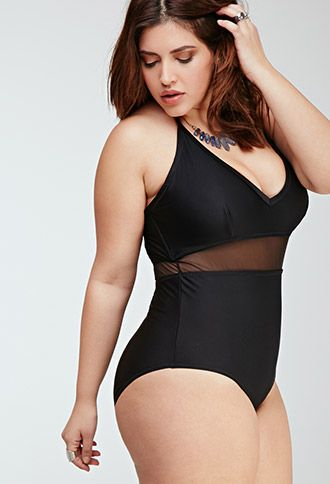 b8d334c9e47 2015 Plus size swimwear black one piece with mesh Cialis cheap no  prescription